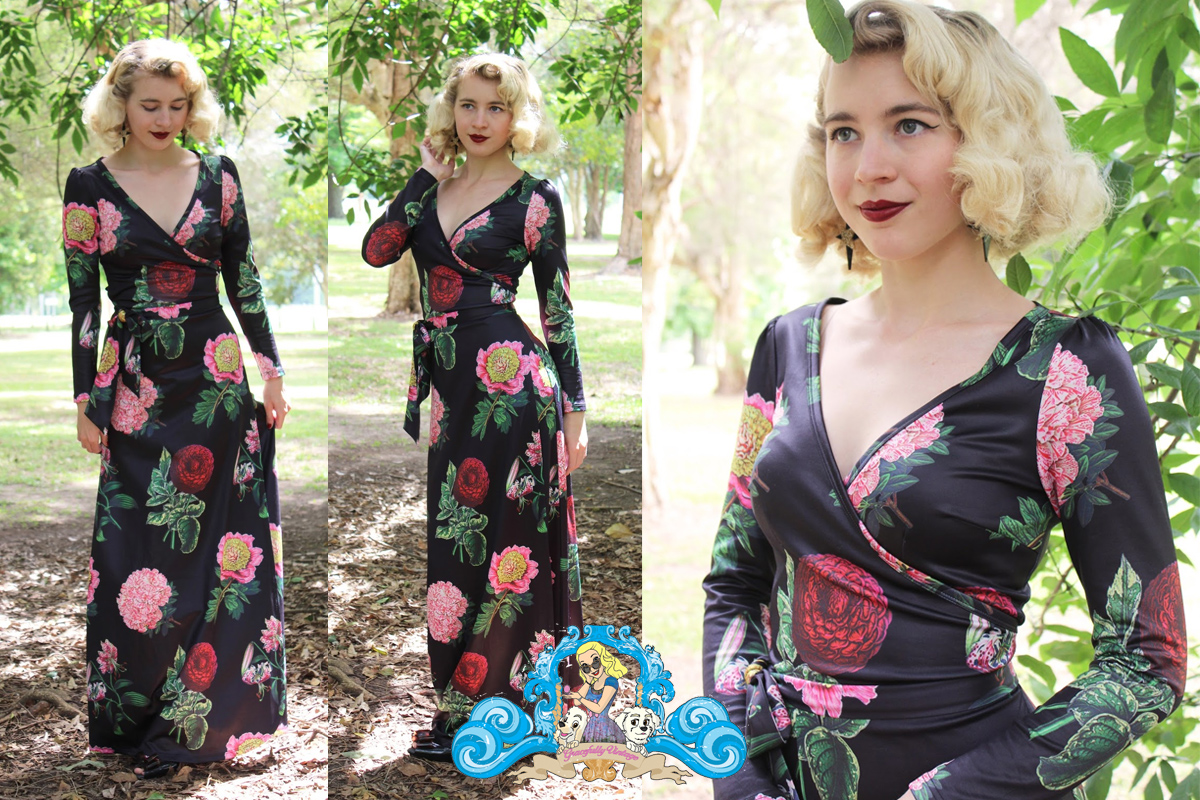 Gracefully vintage - Voodoo VixenWillow Dress