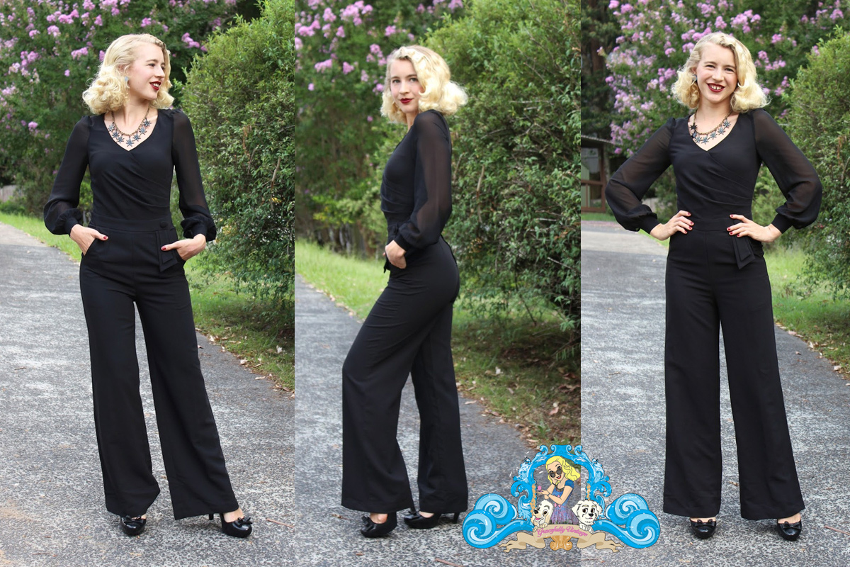 Gracefully vintage - Voodoo Vixen Rosemary Jumpsuit
