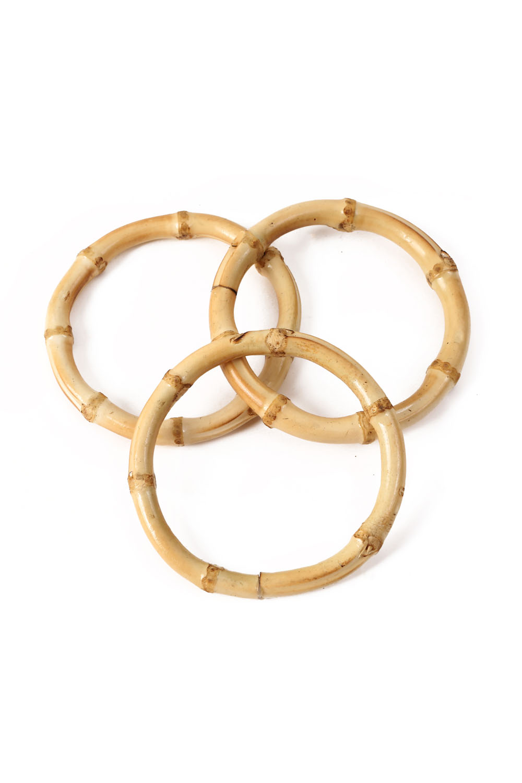 3 Pack Bamboo Bangle