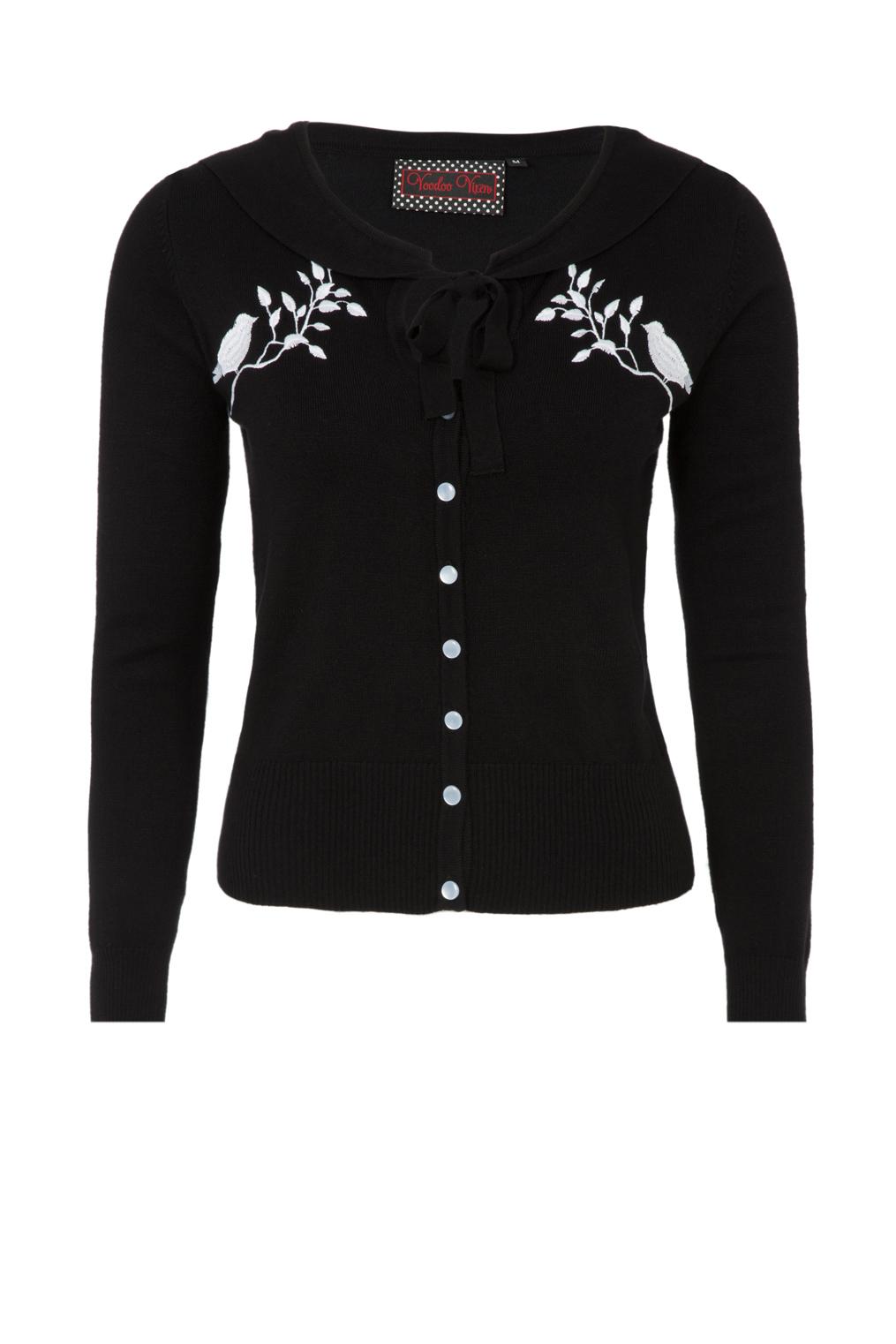 Mila Tie Neckline Plus Size Cardigan