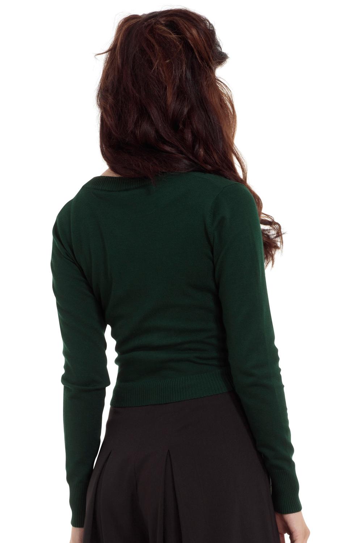 Elle Green Bolero Cardigan