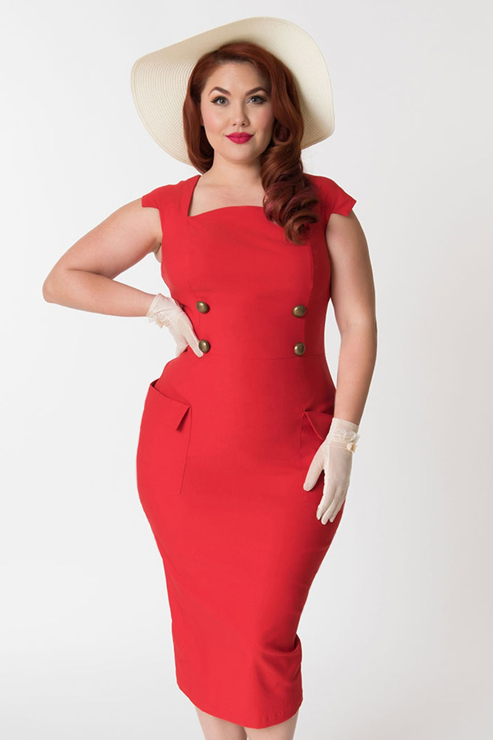 Plus Size Retro Dresses Uk