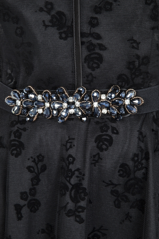 Beaded Floral Elasticated Waist Belt