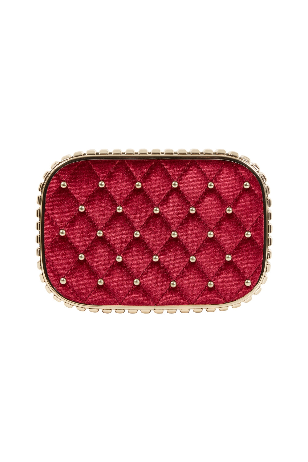 Catherine Velvet & Studded Elegant Evening Bag