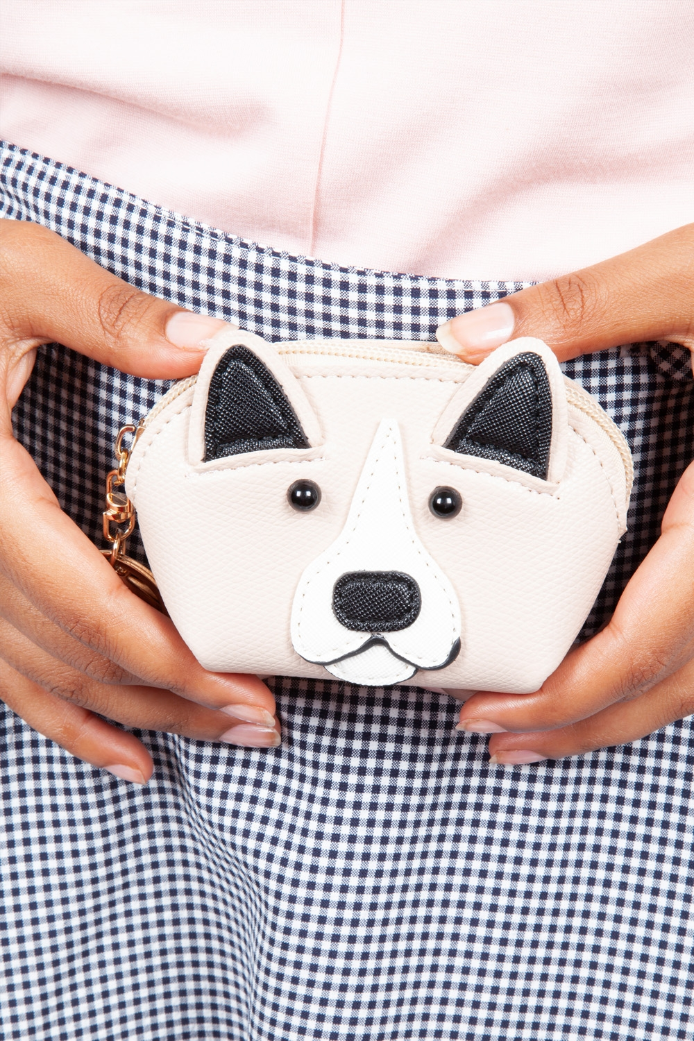 Hector Dog Coin Purse in Sand
