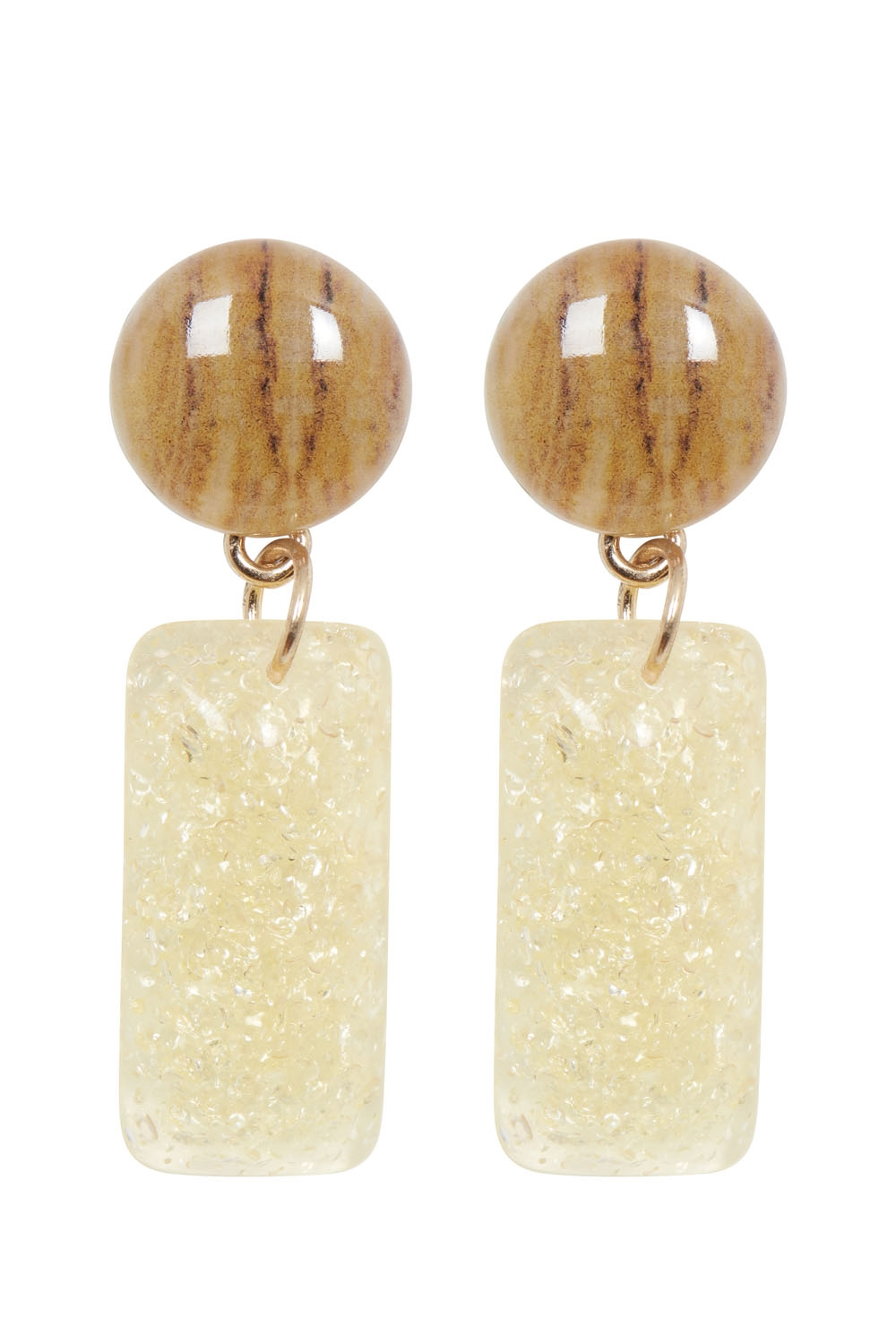 Retro Drop Resin Earrings
