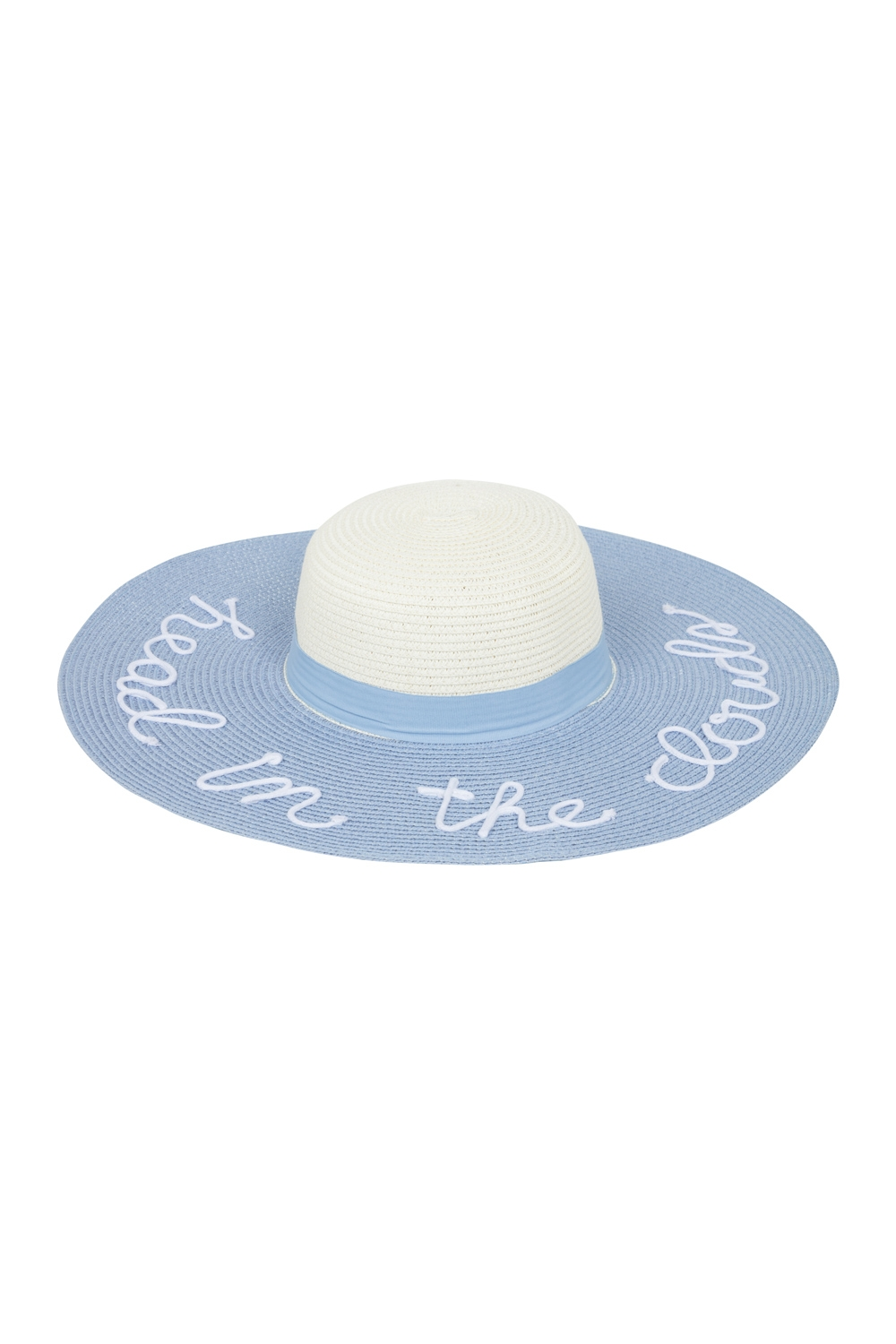 Head In The Clouds Sunhat Blue