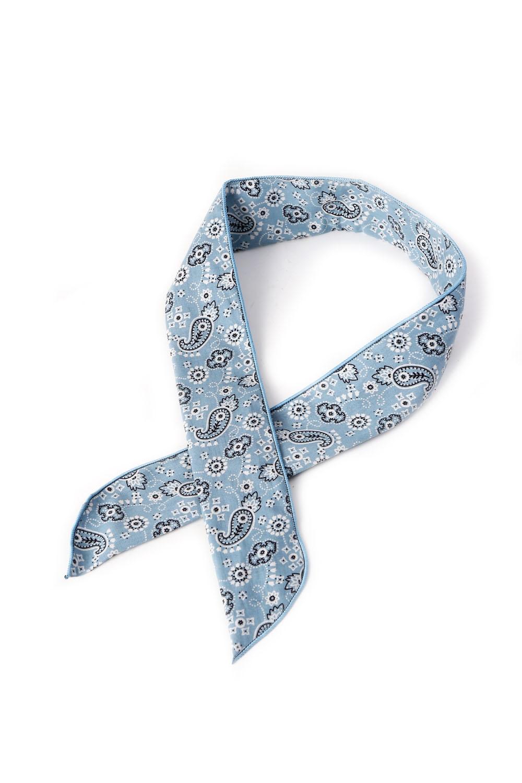Rosie Blue Wired Hair Tie