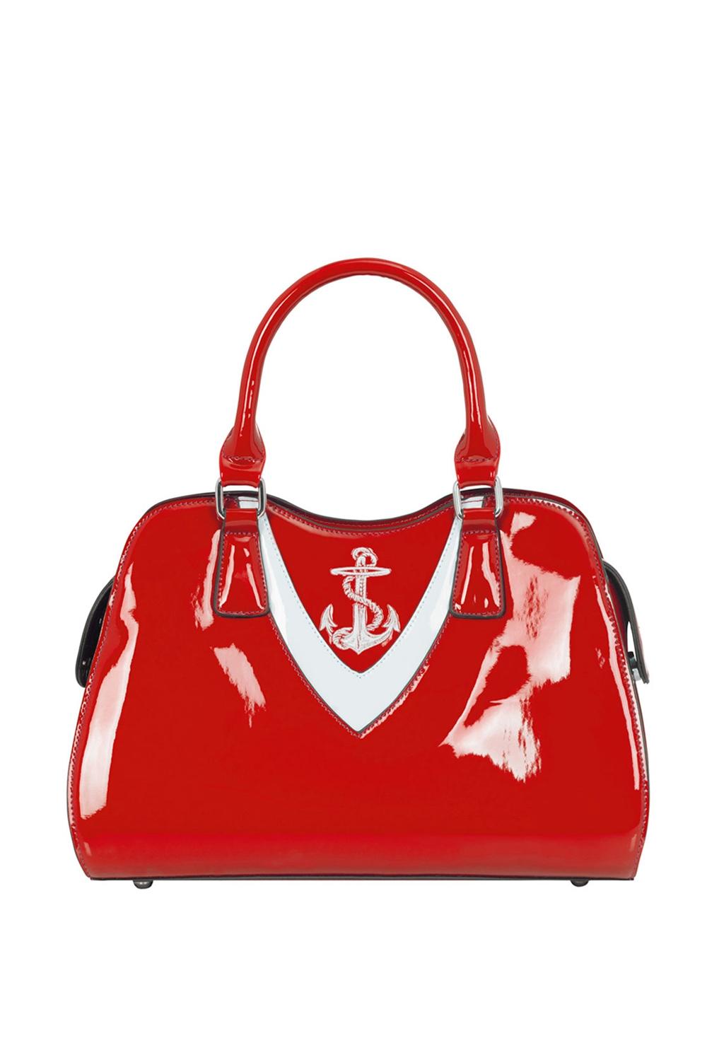 Ship Shape Bag Red