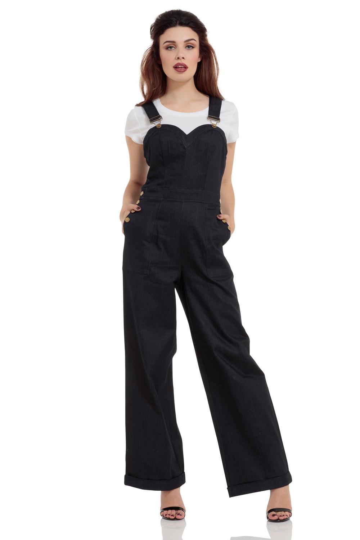 26dd6c473e0c Rosie the Riveter Denim Dungaree Jumpsuit