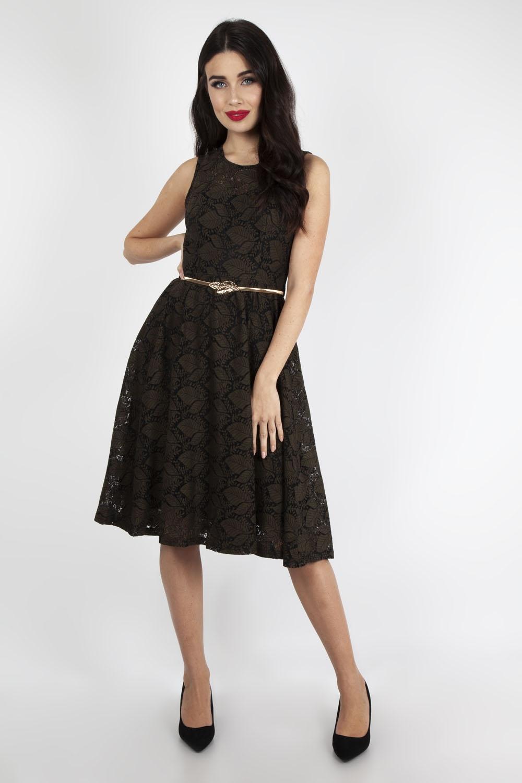 3e5d51f46ea7 Sophia Vintage Inspired Leaf Dress