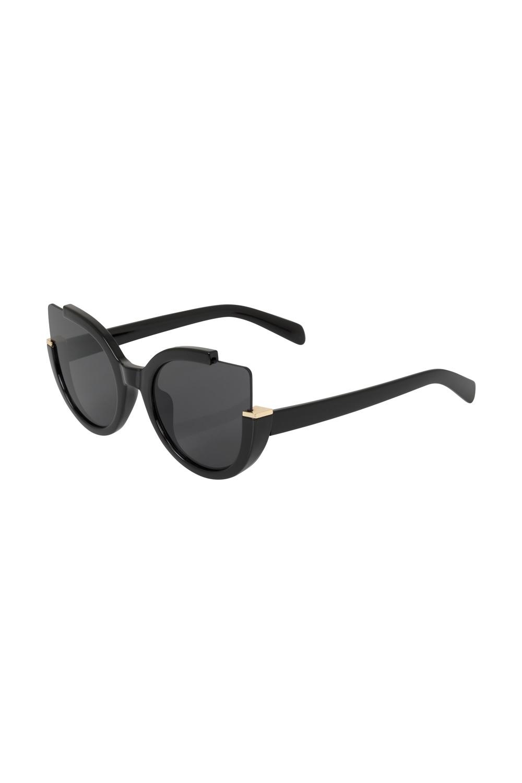 e74ef0520df Extreme Cat Eye Sunglasses Black