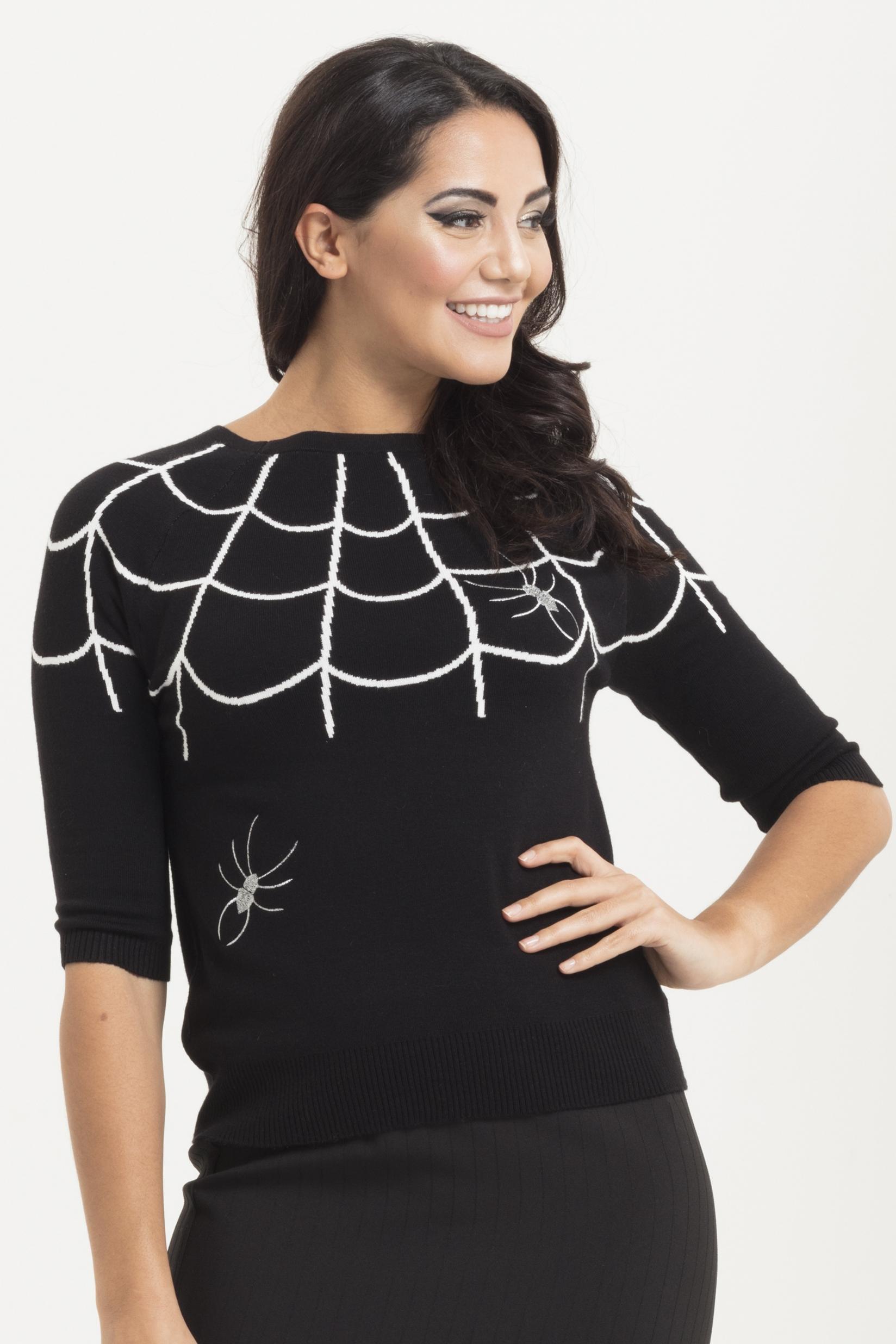 Charlotte Webbed Sweater