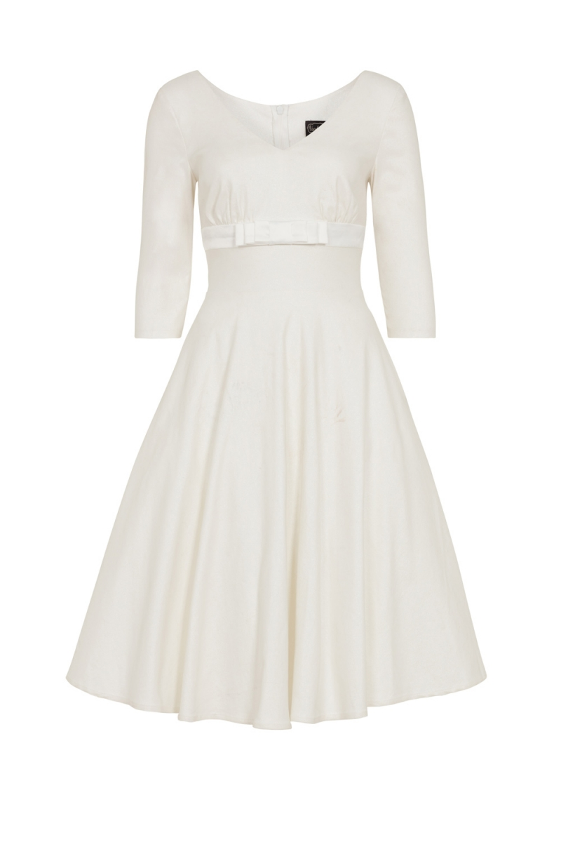 Voodoo Vixen Vintage Inspired Dorothy Bridal Plus Size