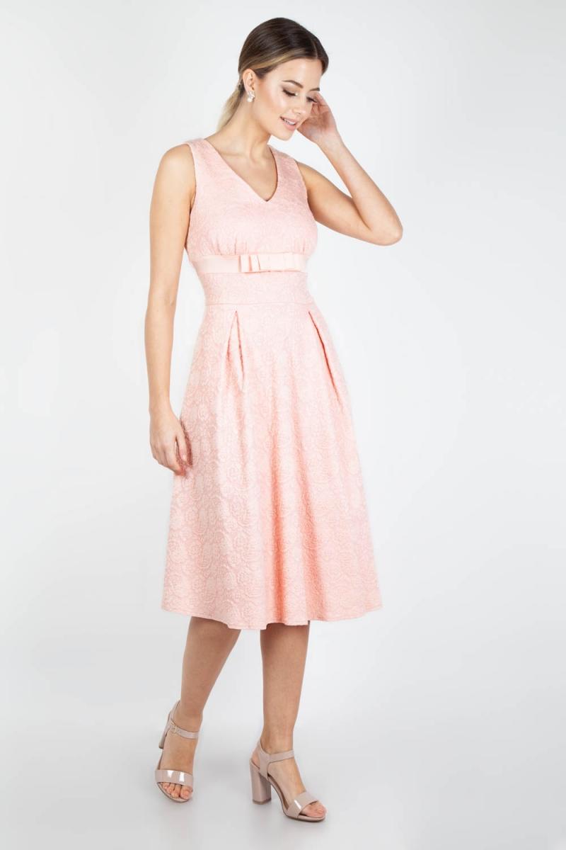 Fashion Dresses Accessories: Voodoo Vixen Vintage Inspired Lauren Peach Bridal Dress