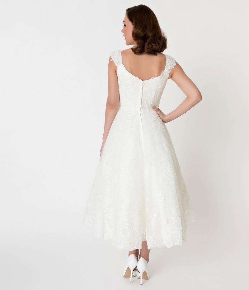 Wedding Dresses For Over 50 Uk: Voodoo Vixen Vintage Inspired Madeline Vintage Lace Bridal
