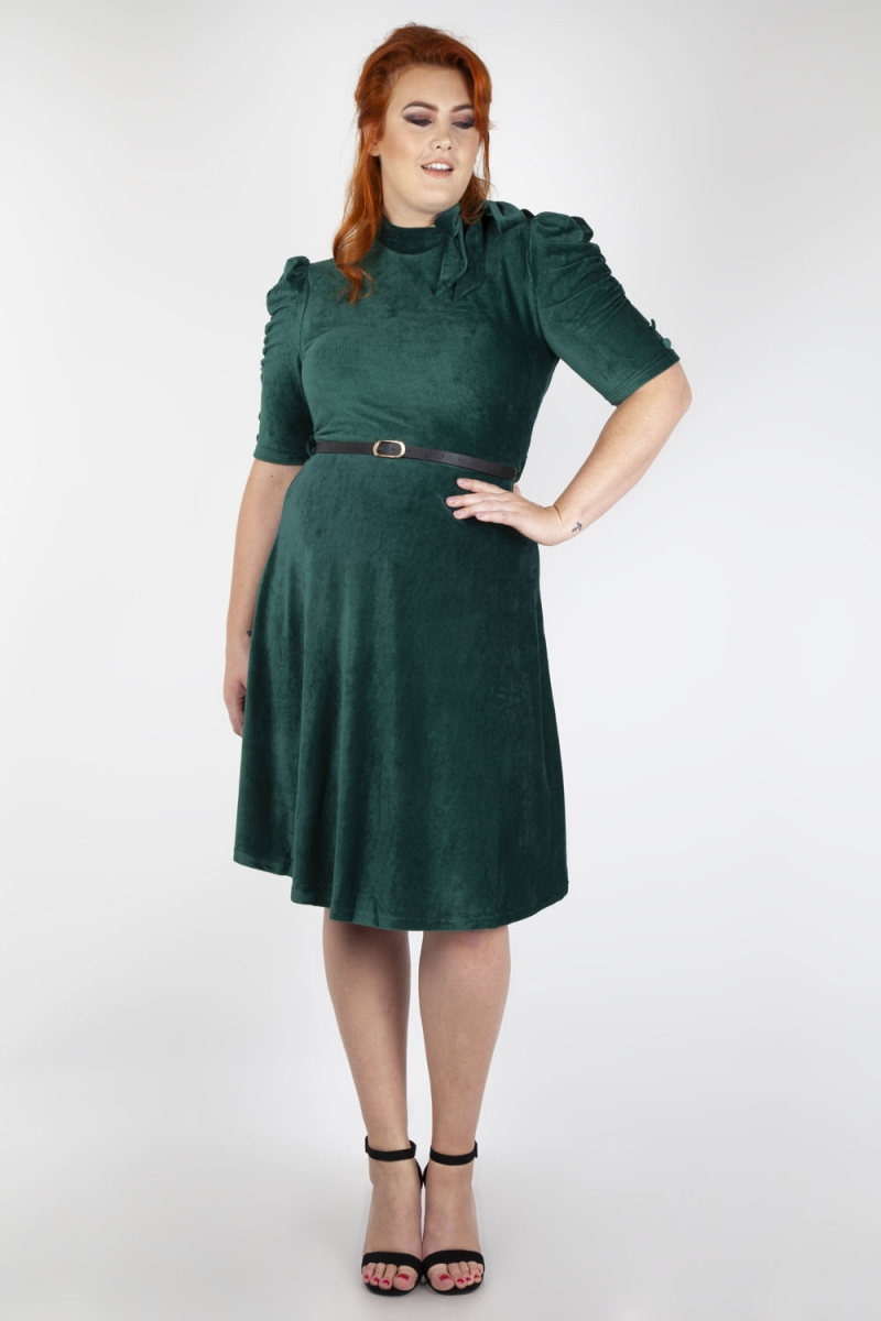 Penelope Velvet Plus Size Dress