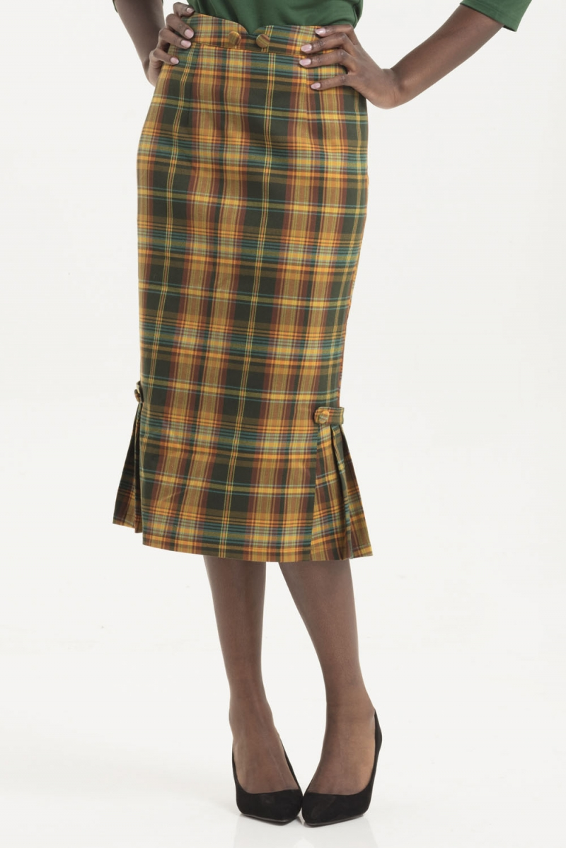 d009adce6 Stella Plaid Pencil Skirt | Vintage Inspired Fashion & Accessories ...