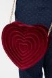Red Velvet Heart Bag