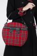 Tammie Tartan Round Bag