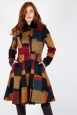 Blaire Patchwork Coat