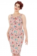 Allison Retro Diner Wiggle Dress