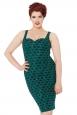 Fleur Vintage Pin Up Style Dress