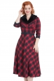 Bettie Plaid Swing Dress
