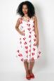 Fanny Ann Cherry Embroidery Dress