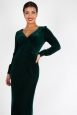 Edith Velvet Jewel Gown