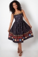 Fearne Fiesta Print Flared Dress
