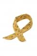 Rosie Yellow Wired Hair Tie