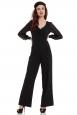 Rosemary Black Flared Jumpsuit