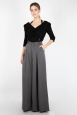 Khloe Grey 40s Style Trousers