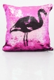 Flamingo Fun Two Tone Cushion Cover