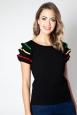 Maria Black Fiesta Ruffle Sleeve Sweater