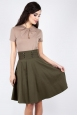 Martha 40s Flared Skirt