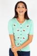 Elaina Watermelon Mint Cardigan
