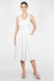 Monroe Bridal Dress in White