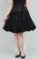Patti Black Petticoat