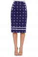 Valerie Navy Nautical Skirt