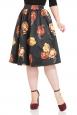 Marigold Gathered Flare Skirt