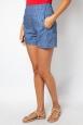 Zoey Cherry Stripe Shorts