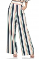 Hailey Striped High Waist Trousers
