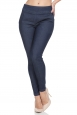 Sandy Fitted Denim Capri Pants
