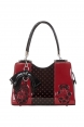 Black and Red Nesting Doll Bag