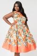 Detroit Plus Size Dress by Unique Vintage