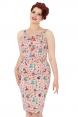 Allison Retro Diner Wiggle Dress