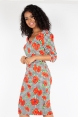 Eloise Poppy Print Wiggle Dress