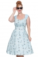 Aubrey Dog Print Dress